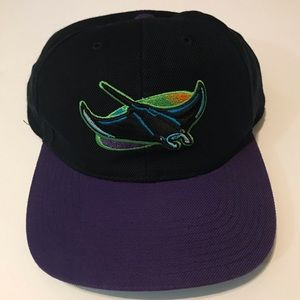 Clean MLB Tampa Bay Devil Rays Snap Back Hat